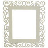 "Rectangle Wood Frame - 8"" x 10"""