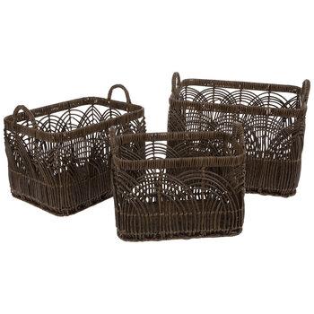 Woven Arch Basket Set
