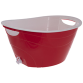 Red Double Walled Drink Container