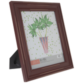 """Red Distressed Wood Frame - 8"""" x 10"""""""