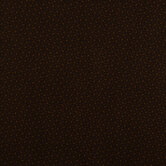 Dark Brown & Gold Floral Cotton Calico Fabric