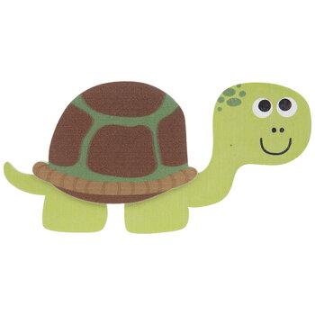 Turtle Painted Wood Shape