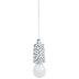 White & Black Dotted Hanging LED Rope Light