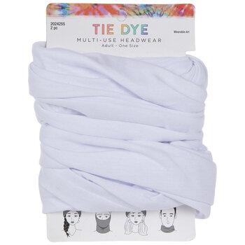 Tie Dye Multi-Use Adult Headwraps