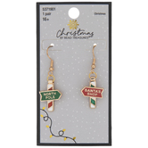 North Pole Signs Earrings