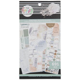 Neutral Watercolors Happy Planner Stickers