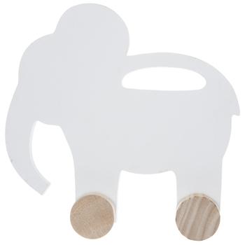 Elephant Rolling Wood Decor