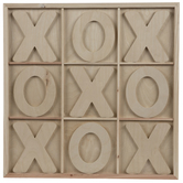 Tic Tac Toe Wood Wall Decor