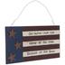One Nation American Flag Wood Wall Decor
