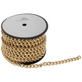 Gold Curb Link Chain Trim