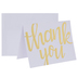 Gold Foil Thank You Cards