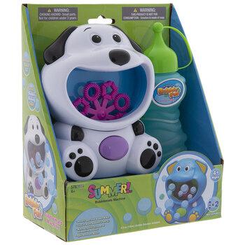 Dog Summer Bubble Fun Machine