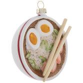 Ramen Bowl & Chopsticks Ornament