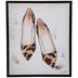 Leopard Print Shoes Canvas Wall Decor