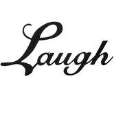Laugh Metal Wall Decor