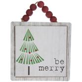 Be MerryTree Wreath Embellishment