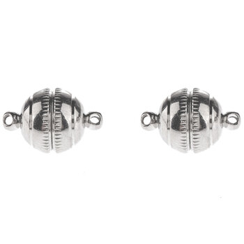 Round Magnetic Clasps - 12mm x 19mm