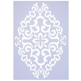 Floral Diamond Stencil