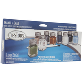 Military Flat Enamel Paint - 9 Piece Set