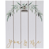 You & Me Wood Clip Frame