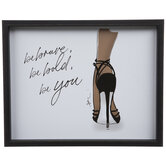 Be Brave, Be Bold, Be You Wood Wall Decor