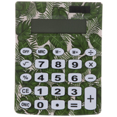 Green Tropical Leaves Calculator