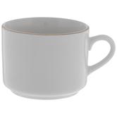 White & Gold Mug