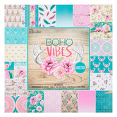 """Boho Vibes Cardstock Paper Pack - 12"""" x 12"""""""