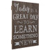 Learn Something New Wood Wall Decor