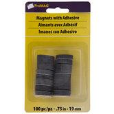 "Adhesive Magnet Dots - 3/4"""
