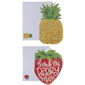 Strawberry & Pineapple Thank You Cards