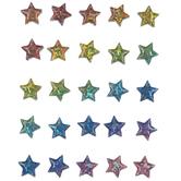 Rainbow Star 3D Stickers