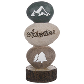 Adventure Stacked Stones