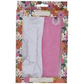 White & Pink Comfort Fit Headbands