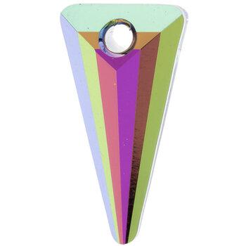 Crystal Vitrail Medium Spike Pendant - 18mm