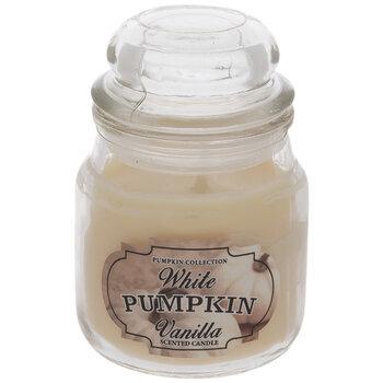 White Pumpkin Vanilla Jar Candle