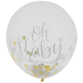 Oh Baby Confetti Balloons