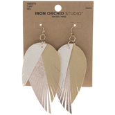 Layered Wing Earrings