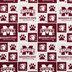 Mississippi State Block Collegiate Cotton Fabric
