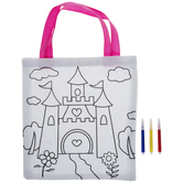 Castle Tote Bag Coloring Kit