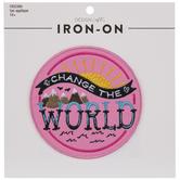 Change The World Iron-On Applique