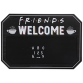 Friends Welcome Letter Board Wall Decor