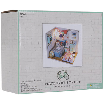 Miniature Boy's Bedroom Kit