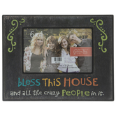 "Bless This House Wood Frame - 6"" x 4"""
