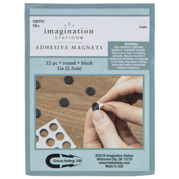 Round Adhesive Magnets