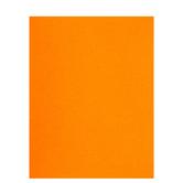 "Orange Smooth Cardstock Paper - 8 1/2"" x 11"""