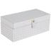 White French Cane Wood Box - Large