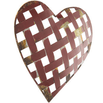 Galvanized Metal Heart Wall Decor