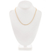 10K Gold Plated Cable Chain Necklace - 18