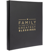 "Family Blessings Post Bound Scrapbook Album - 8 1/2"" x 11"""